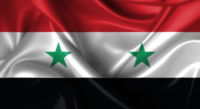 Brent Spikes On Possibility Of Military Action Against Syria