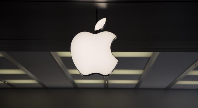 Societe Generale Report Sends Apple Shares Higher Monday