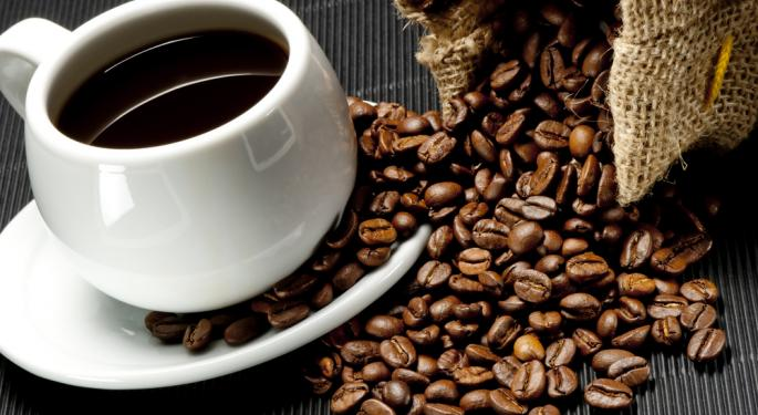 Green Mountain Coffee Roasters Falls After Q1 Results