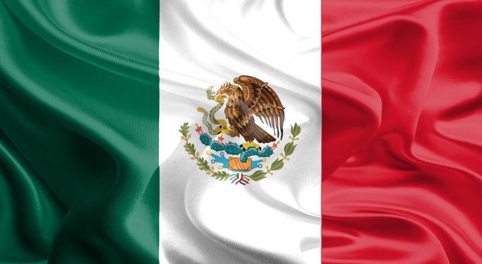 Mexico ETF Rises After Surprise Rate Cut