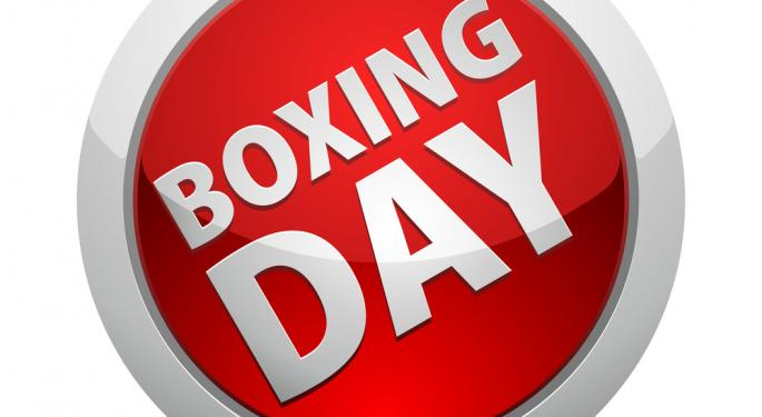Benzinga Market Primer, Wednesday, December 26: Happy Boxing Day