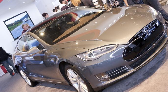 Tesla Shares Volatile On Fears of Regulatory Clamp Down TSLA