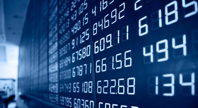 Mid-Day Market Update: ANN Surges On Analyst Upgrade; DryShips Shares Decline