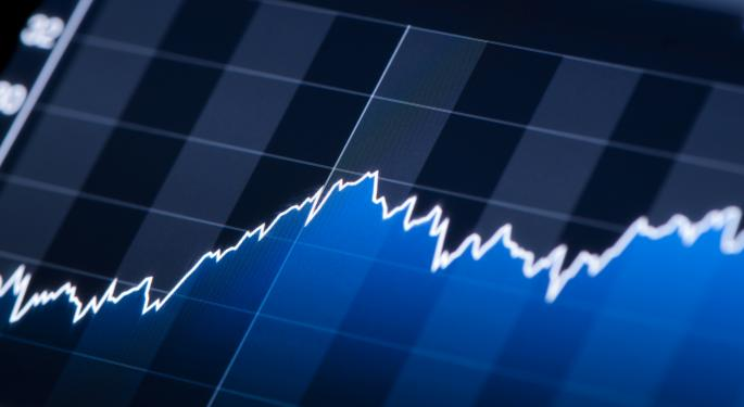 Mid-Morning Market Update: Markets Fall; Express Issues Downbeat Forecast