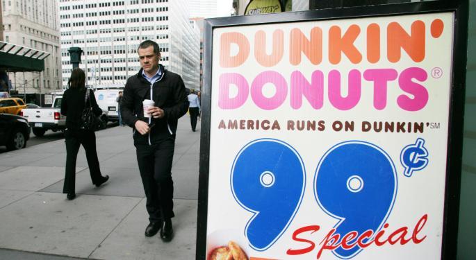 Dunkin' Brands Manifests Destiny With CEO Nigel Travis DNKN