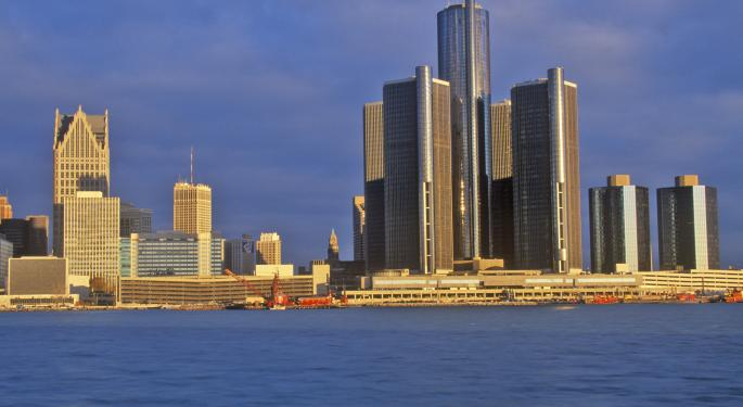 European Banks Feeling The Effects of Detroit Bankruptcy