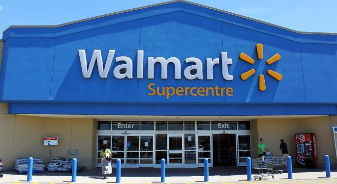 Wal-Mart's Thursday Morning Data Sets Negative Tone For Retailers
