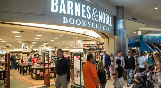 Barnes & Noble, J.C. Penney See Short Interest Rise BKS, JCP, OMX