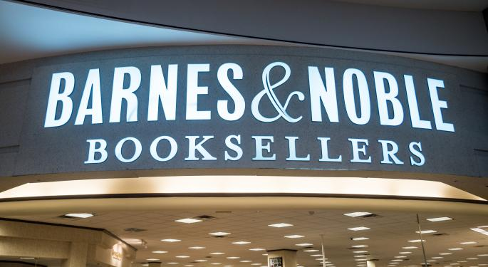 G Asset Management Proposes Acquisition Offer To Barnes & Noble