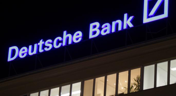 4 Top Bank Stock Picks From Deutsche Bank