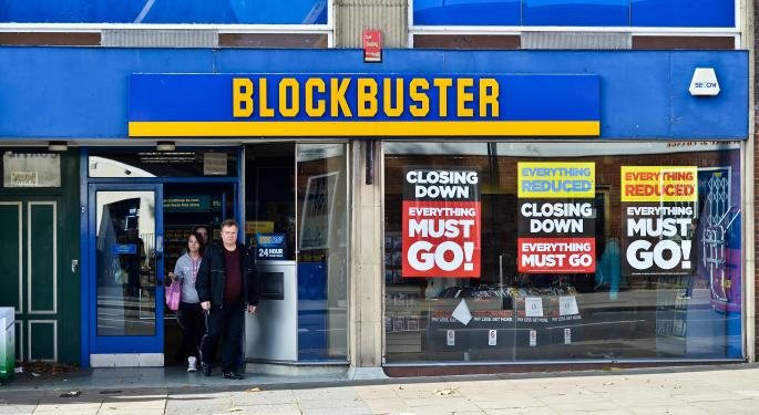 Remaining Blockbuster Stores to Close By End of the Year