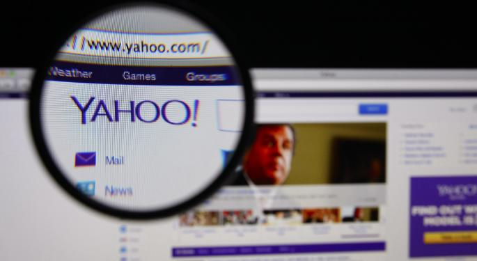 Yahoo! Reports Fourth Quarter Results; Shares Tumble As Asian Assets Disappoint