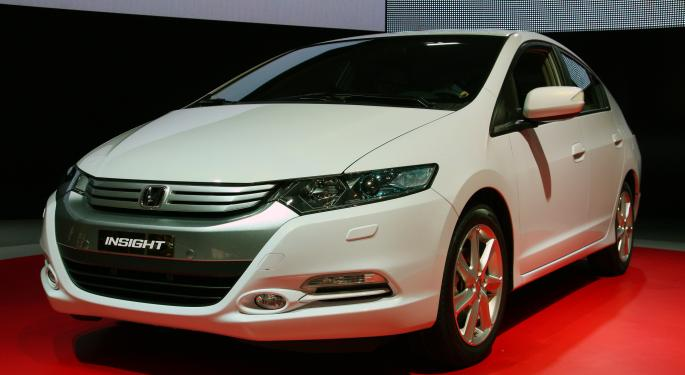 Honda to Discontinue Insight Hybrid Production This Month