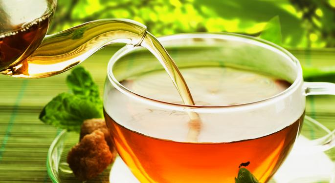 Tea's Popularity Growing, says Washington Post