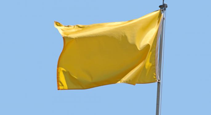 Heed The Yellow Flags