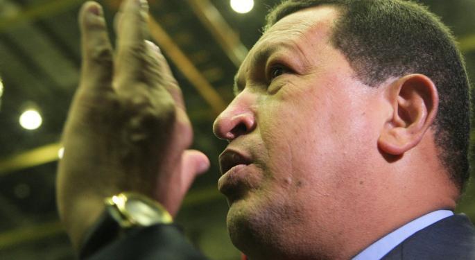 Chavez Rumors Not Hampering Bond ETFs...Yet