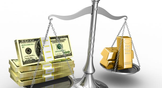 Gold Or The DJIA: Which Would You Rather?