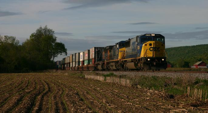 CEO Michael Ward On CSX Q2 Results Chugging Past Analysts' Estimates CSX