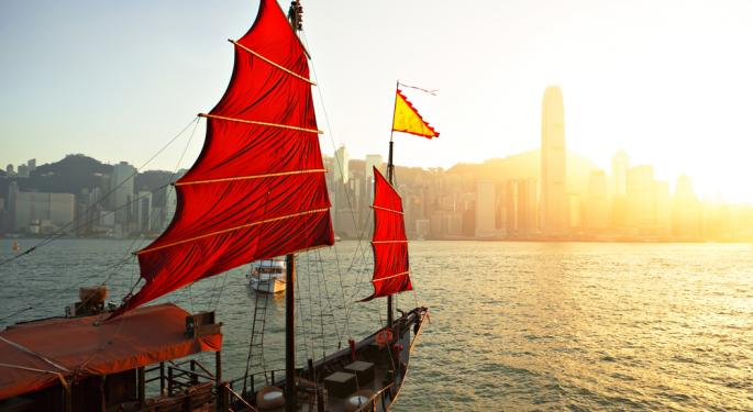 Tiffany's Falls Despite Surging China