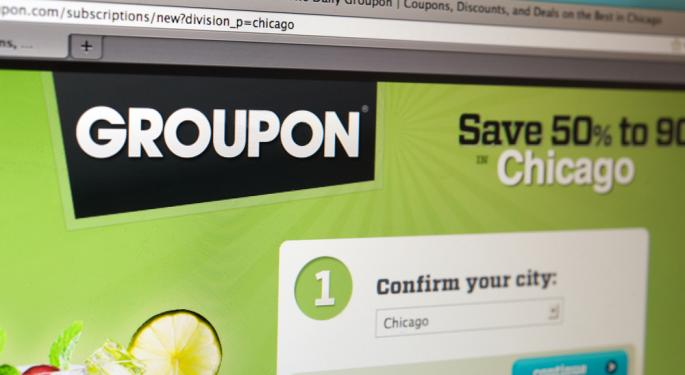 UPDATE: Bank of America Downgrades Groupon to Underperform; Gross Profit Declines