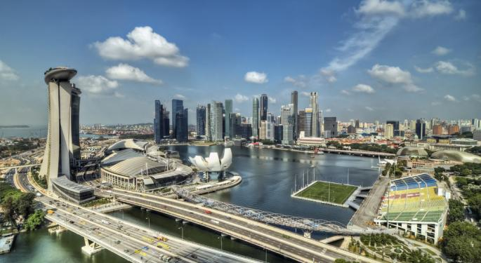 Singapore Consumer Confidence Hit 12 Month High