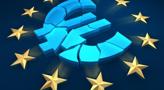 Euro Improves On ECB's Positive Outlook