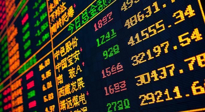 Mid-Day Market Update: Rackspace Gains On Upbeat Earnings; DXP Enterprises Shares Slip