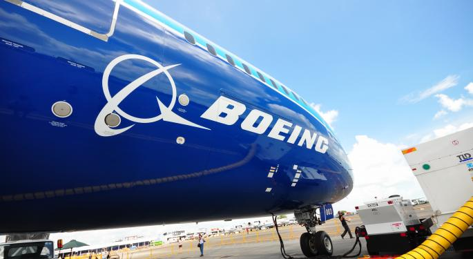 Boeing's New Airliner Tops Big Year for the Stock