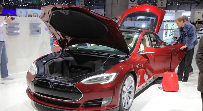 Tesla Down 10% Following Earnings Beat