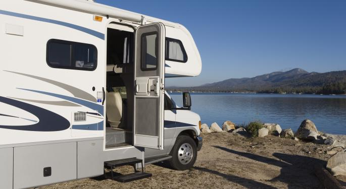 As Baby Boomers Settle Down, RVs See A Comeback