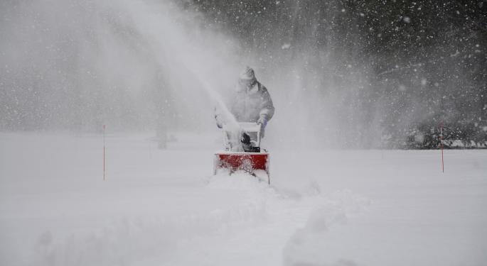 Major US Snowstorms Still On Track For Thanksgiving Week