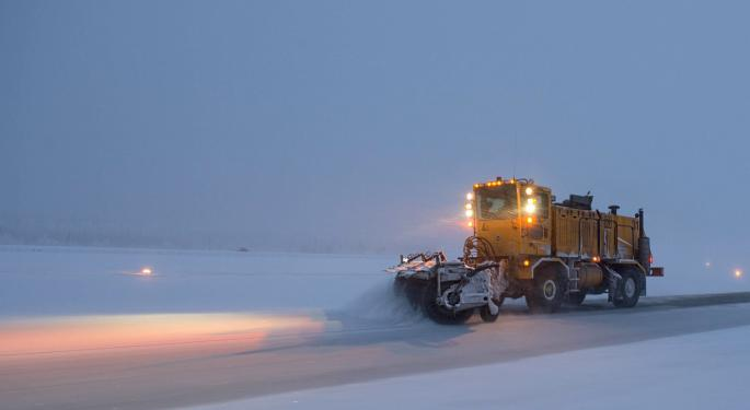 Record-Breaking Snowstorm Trudging Through Plains