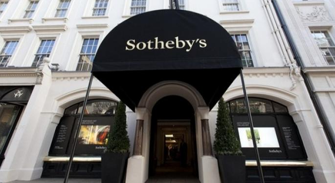 Sotheby's To Be Acquired By BidFair, Shares Rise 60%