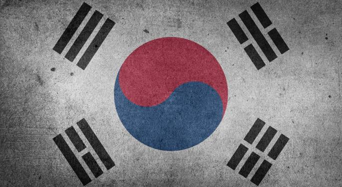 A Scintillating South Korea ETF