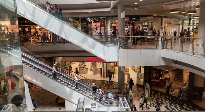 Mall Retailers On The Radar This Week