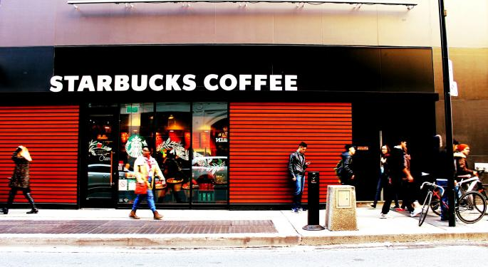 The Street Mostly Agrees: Starbucks Print Shows 'Positive, Less Controversial' Quarter
