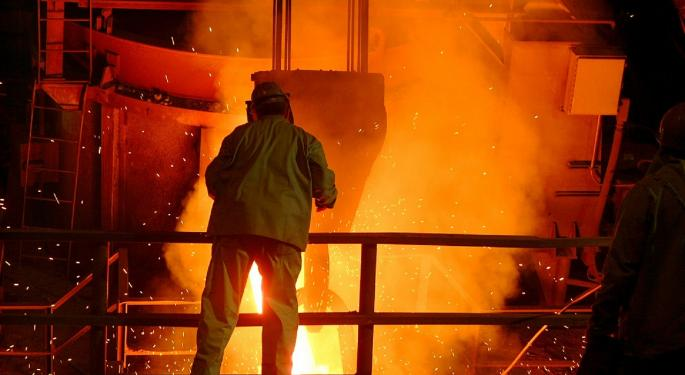 KeyBanc Sounds Cautious Note On AK Steel's Q1