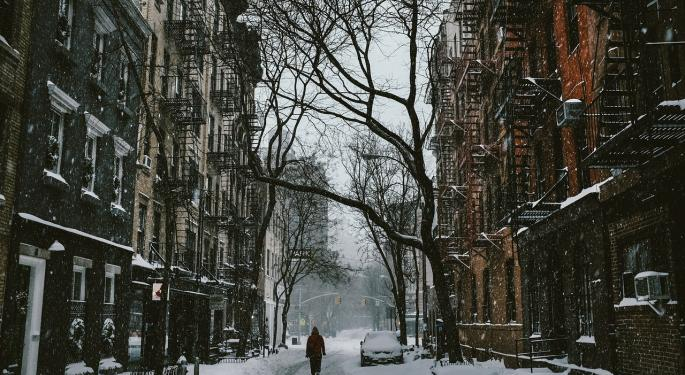 First Snow Of The Season Hitting Interior Northeast