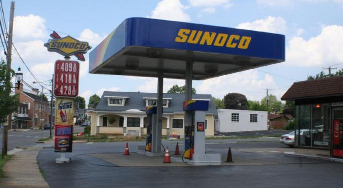 Sunoco Shares A Buy On Credit Suisse's Upgrade To Outperform