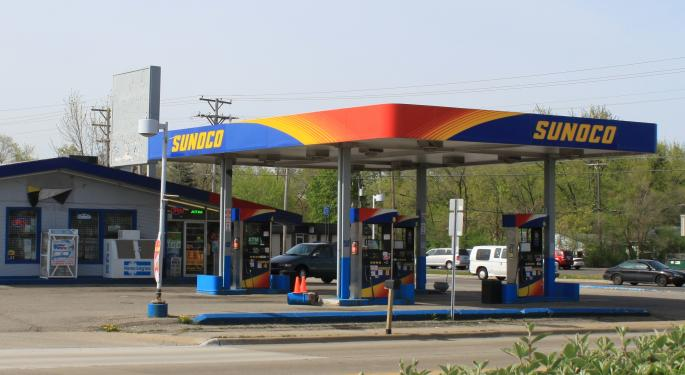 Goldman Now A Sunoco Bear On Projections Of Negative Consensus Revisions
