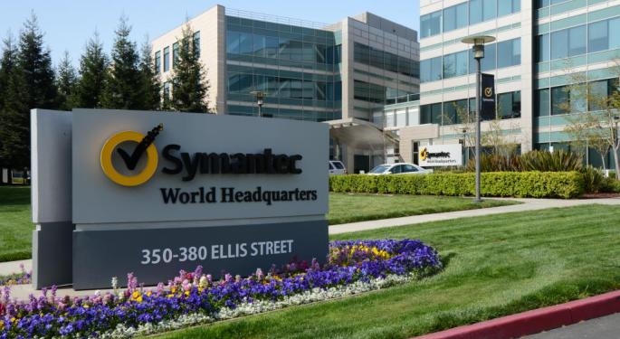 Symantec Shares Are Flying On Report Broadcom Is Eyeing A Takeover