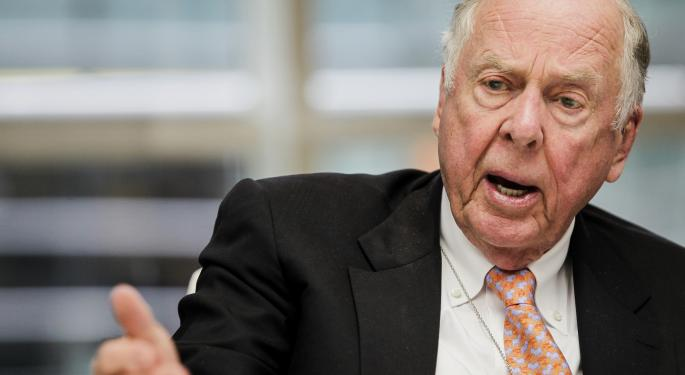 T. Boone Pickens' New ETF And 7 Most Undervalued Stocks