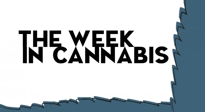 The Week In Cannabis: Davos, Aphria's Funding, Moves In Alaska, New York And Vermont