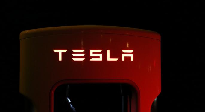 Technical Levels To Watch Ahead Of Tesla's Q1 Earnings