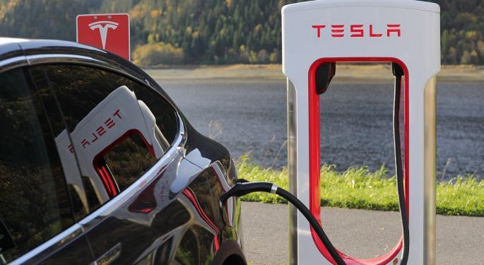 Oppenheimer's Chart Expert Says The $290-$300 Range For Tesla's Stock Is Important