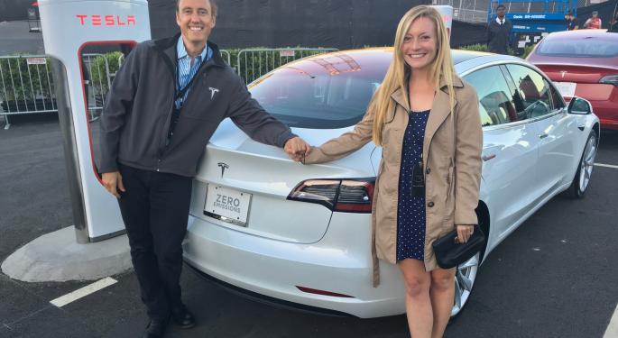 Analyst Upgrades Tesla To Buy On Robust Model 3 Demand