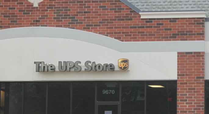 The Days Of UPS Shares Trading At A Premium To The S&P May Be Numbered