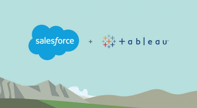 Tableau CEO On Synergies With Salesforce: The 'Best Of Both Worlds'