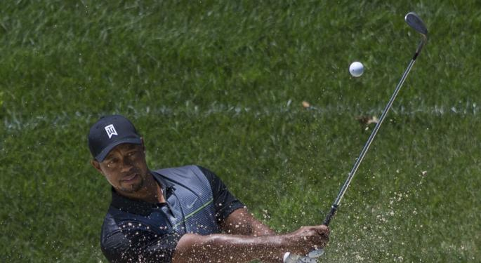 The Tiger Woods 'Halo Effect' Drives Up PGA Championship Ratings