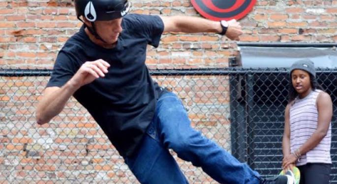 Tony Hawk Opens Detroit Skate Park: 'It's A Great Start'